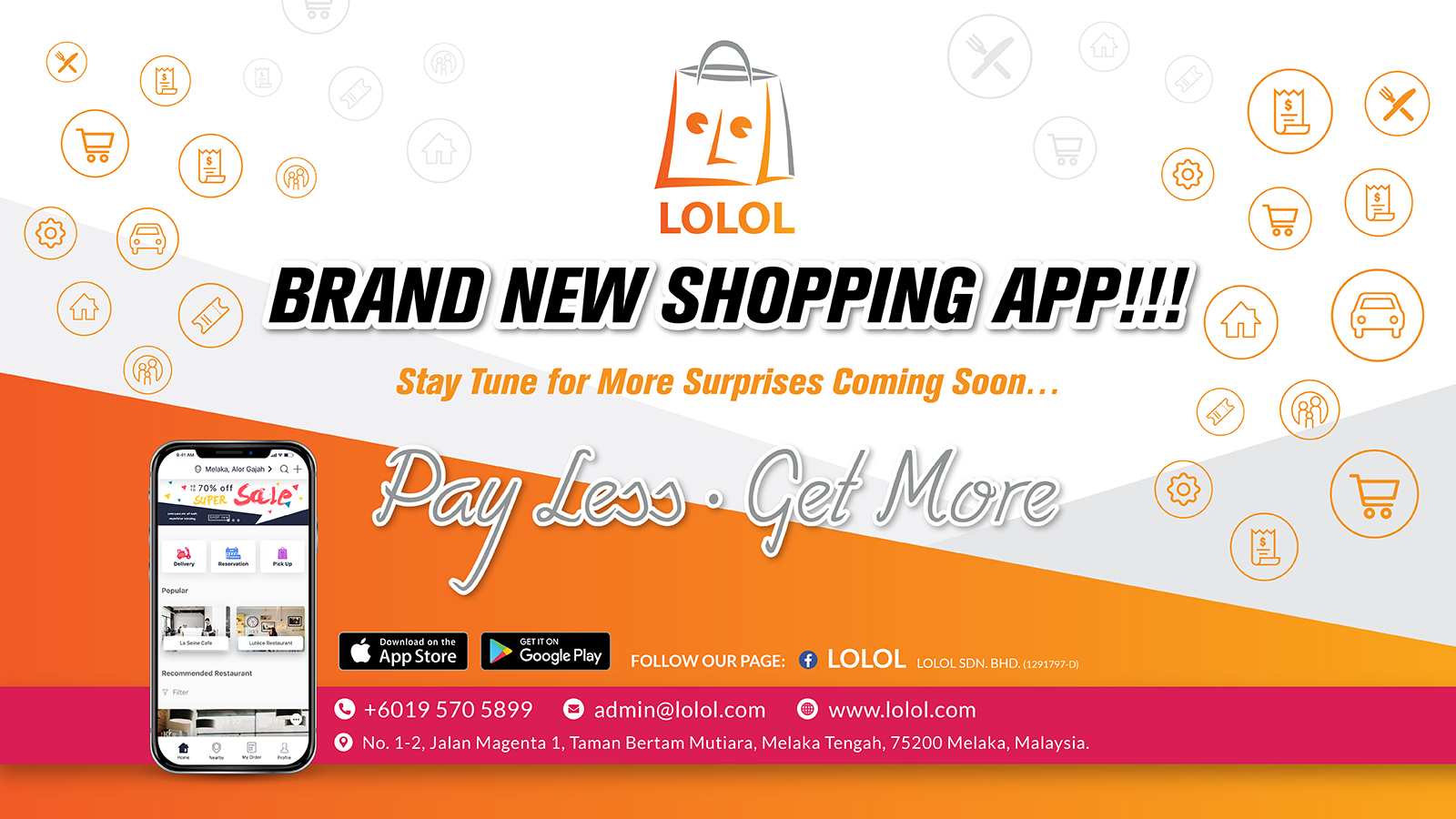 LOLOL - Brand New Shopping App